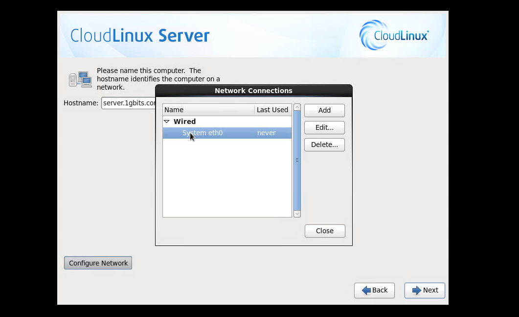 How to Install CloudLinux OS