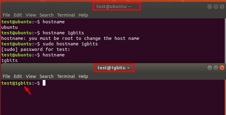 How to Change the Hostname on Linux